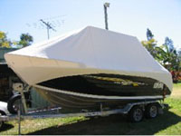 Trailer boat cover