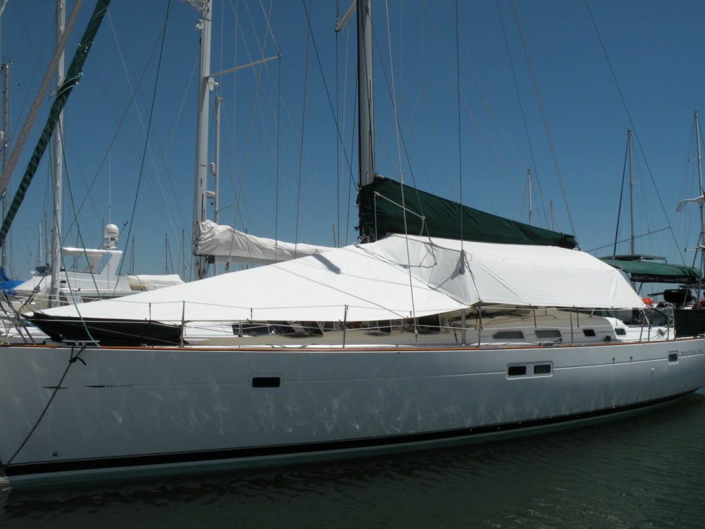 MFA Award Bagged Yacht Awning