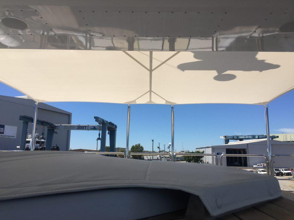 Super Yacht - Sun Safe Sails 1