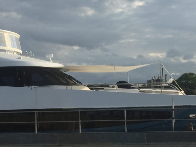Super Yacht - Sun Safe Sails 3