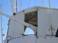 Enclosed rear deck covers