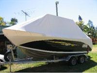 Trailer boat cover