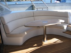 Exterior lounge cushions