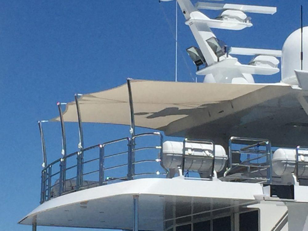 Super Yacht - Sun Safe Sails 4